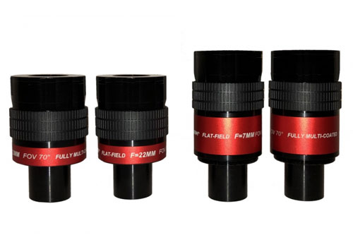 New serie eyepieces